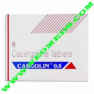 Cabgolin - Cabergoline - Sun Pharma, India
