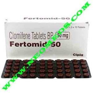 Fertomid 50 - Clomiphene - Cipla, India
