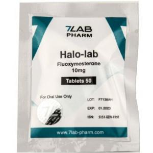 Halo-lab 10 - Fluoxymesterone - 7Lab Pharma, Switzerland