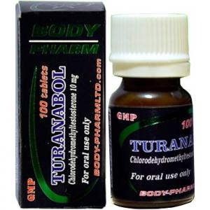 Turanabol - 4-Chlorodehydromethyltestosterone - BodyPharm