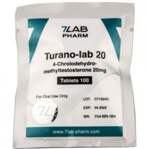 Turano-lab 20 - 4-Chlorodehydromethyltestosterone - 7Lab Pharma, Switzerland