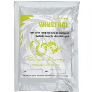 Winstrol 50 - Stanozolol - Dragon Pharma, Europe